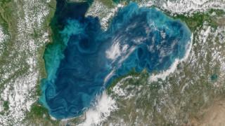 Вижте тюркоазените нюанси на Черно море през погледа на НАСА