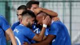Левски тушира напрежението с изразителен успех над последния в шампионата