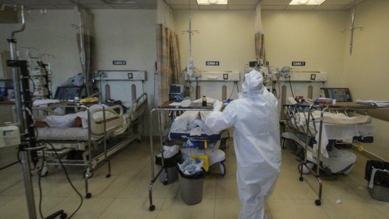 Властите в Мексико са регистрирали 8 438 заразени с новия
