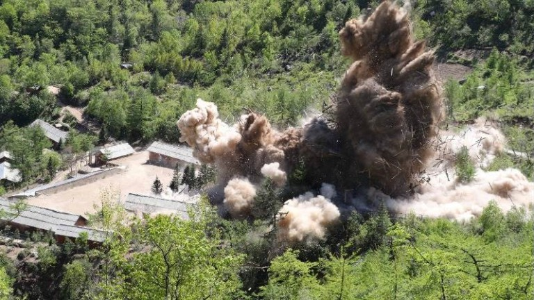 Северна Корея разрешава инспекции на ядрения полигон Пунгери