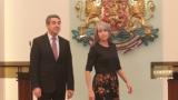 Президентът Плевнелиев позира гордо с екипа на Бока Хуниорс (СНИМКИ)