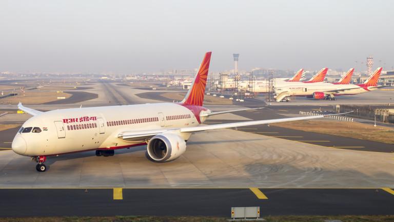 Никой не иска националния авиопревозвач на Индия