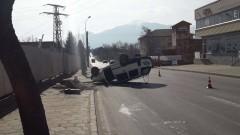 Жена пострада при катастрофа в Разлог