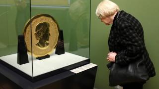Акция в Берлин за установяване дали са претопили 100-килограмовата златна монета