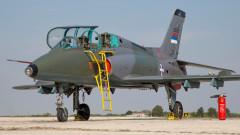 Сръбски военен самолет се разби до Ковачица