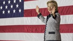 Хилари Клинтън води с 5% на Доналд Тръмп