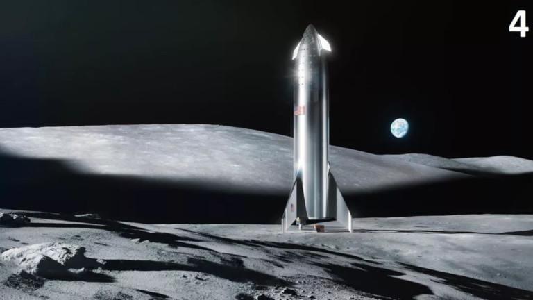 Илон Мъск показа ракетата на SpaceX за лунни обиколки