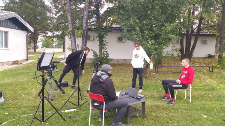 УЕФА е при ЦСКА, снима филм за отбора