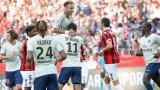 8 от 8 за ПСЖ в Лига 1, Неймар с два гола при 3:0 над Ница