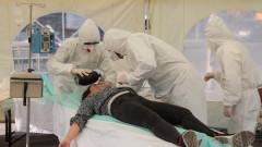 Опашки за ваксиниране срещу COVID-19 в Украйна след рекорден брой починали и заразени