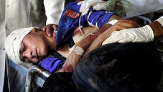 Девет загинаха след катастрофа в Афганистан