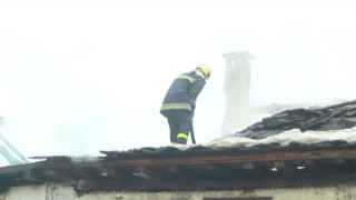 65-годишен почина при пожар в дома си край Никопол