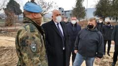 "Борисов, Каракачанов и Ангелов разглеждат полигон ""Корен"""