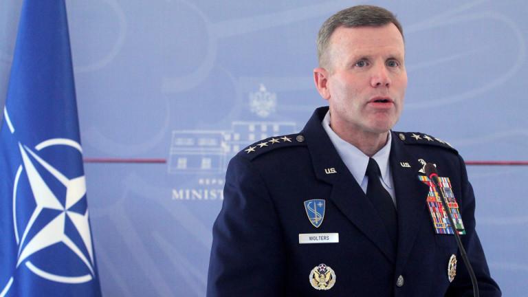 Генерал Тод Уолтърс от Военновъздушните сили на САЩ положи клетва