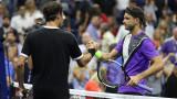 Мачът на Григор Димитров срещу Роджър Федерер е №4 сред най-добрите на US Open 2019