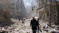 31 цивилни избити при серия бомбардировки на сирийския режим в и край Алепо