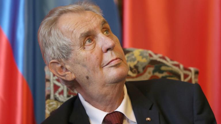Чешкият президент Милош Земан не харесва Косово, бивша сръбска провинция,