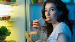 Учени предупреждават за опасността от похапването преди лягане