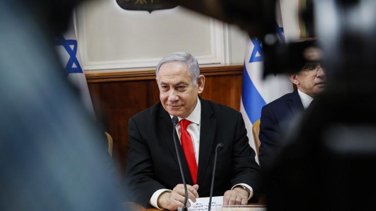 Премиерът на Израел Бенямин Нетаняху призова за налагане на санкции