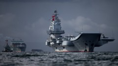 Китайски самолетоносач премина между японските острови