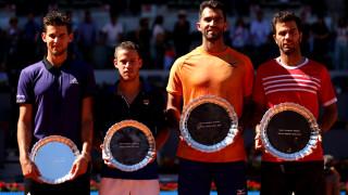 Холандецът Ройер и румънецът Тъкау спечелиха турнира на двойки в Мадрид