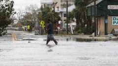 "Ураганът ""Майкъл"" отслабна до тропическа буря, един загинал"