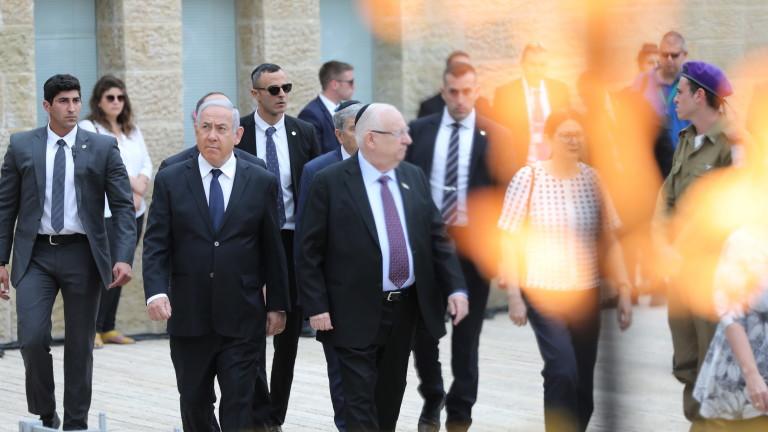 Президентът на Израел Реувен Ривлин прие молба на премиера Бенямин