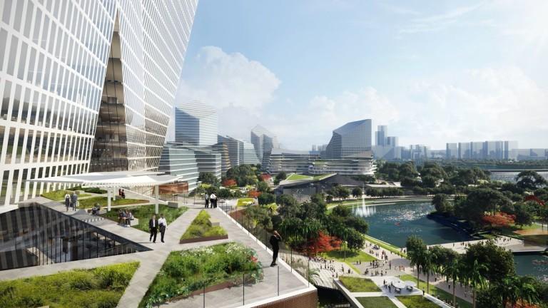 Китайски технологичен гигант си строи собствен град