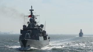 Армията на Турция пъчи мускули в Средиземно море