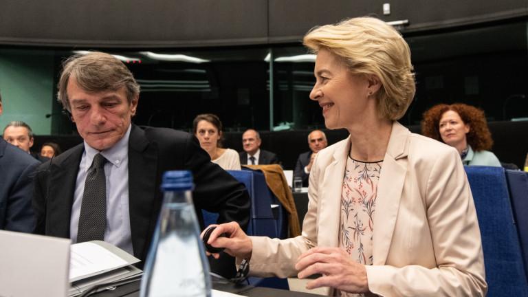 Новоизбраният председател на Европейската комисия Урсула фон дер Лайен се