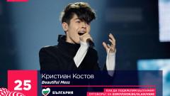 Кристиан Костов стана втори на Евровизия