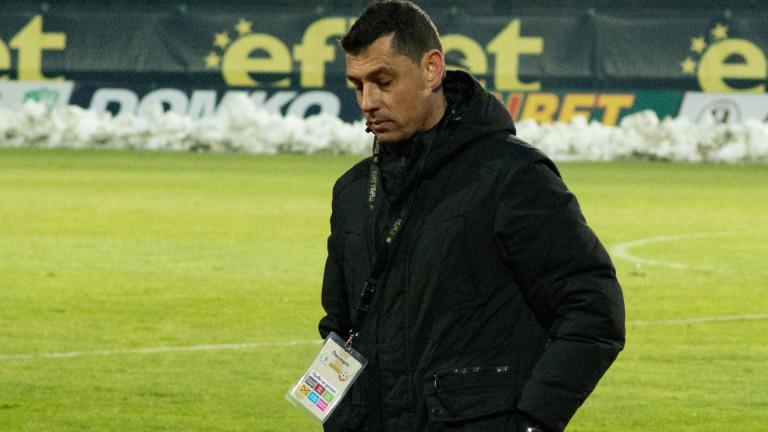 Александър Томаш с няколко въпросителни преди мача с ЦСКА