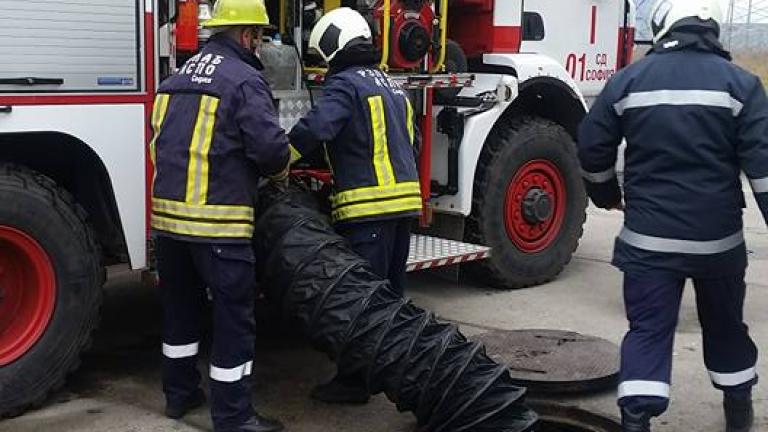 Кола изгоря в Пловдив