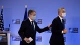 Блинкън с опит да възстанови отношенията на САЩ при първото си посещение в НАТО и ЕС