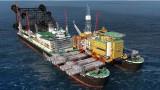 """Гигантският кораб """"Пионерски дух"""" вече е в Черно море (Снимки и Видео)"""
