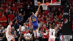 Голдън Стейт Уориърс с пети пореден финал в НБА