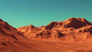 Какъв е снегът на Марс