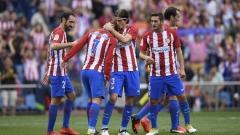 """Атлетико доближи Реал и Барса, Гризман носи победата на """"дюшекчиите"""""""
