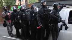 Полицията в САЩ застреля заподозрян за убийство на крайнодесен привърженик на Тръмп