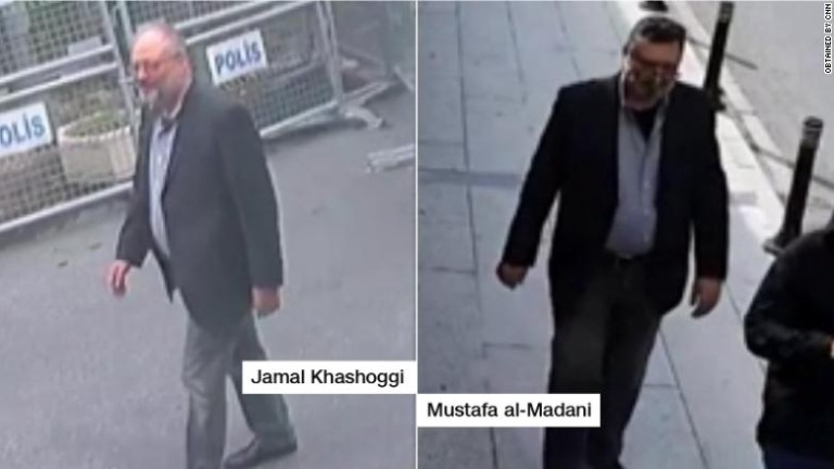 Убийството на саудитския журналист Джамал Кашоги в консулството в Истанбул