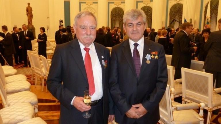 Първият български космонавт Георги Иванов е във ВМА