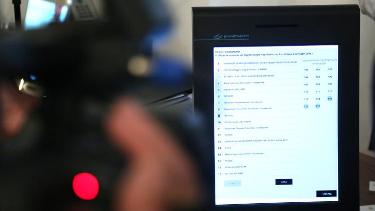 ЦИК удължи срока за оферти за машините за гласуване