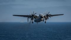ВМС на САЩ спряха издирването на трима моряци от катастрофиралия самолет