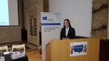 Ева Майдел е първата жена, президент на Европейското движение