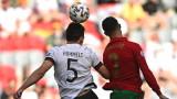 Португалия - Германия 2:4 (Развой на срещата по минути)