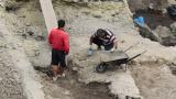 Бетонираха археологически находки в Пловдив