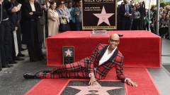 Ру Пол със звезда на Алеята на славата