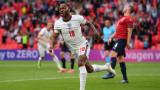 Чехия - Англия, развой на срещата по минути