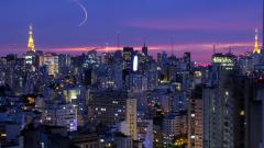 В Сао Пауло борят задръстванията с хеликоптери таксита