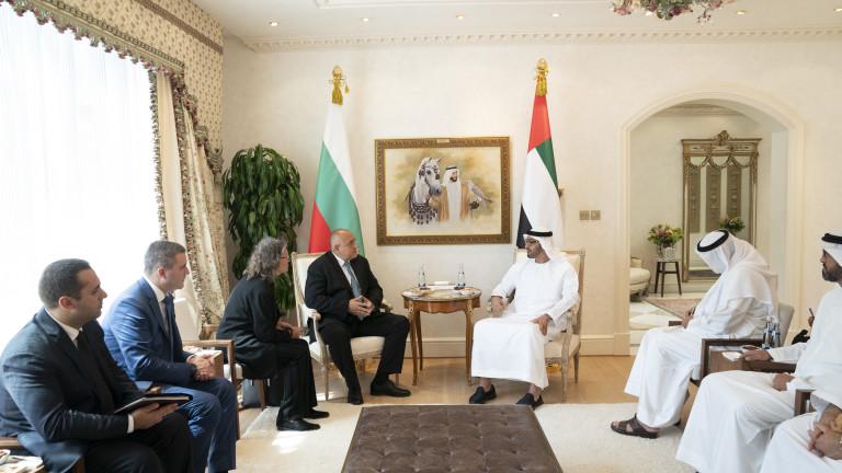 В България има голям потенциал за емиратски инвестиции в сектори,